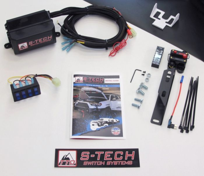S-TECH-4-4R - S-TECH 4 Switch Systems (10-18 4Runner TRD)Toytec Lifts